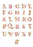 Flourish letters Stock Photos