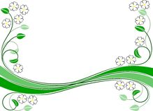 Flourish ornament Royalty Free Stock Image