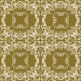 Flourish Seamless Pattern Stock Photos