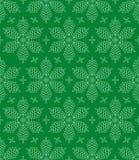 Flourish Snowflakes Seamless Pattern. Flourish Snowflakes Seamless Winter Pattern. Linear tileable vector background vector illustration