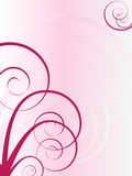 Flourish spiral background Royalty Free Stock Photography