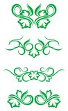 Flourishes decorations Stock Photos