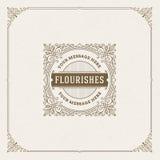 Flourishes Logo template Stock Photo
