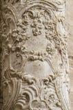 Flourishes, ornements et sculptures de style gothique, Espagnol Image libre de droits