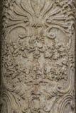 Flourishes, ornements et sculptures de style gothique, Espagnol Photographie stock libre de droits