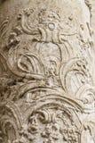 Flourishes, ornements et sculptures de style gothique, Espagnol Image stock