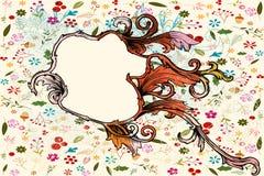 Flourishes and swirls Stock Photos