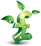 Flourishing pound Stock Image