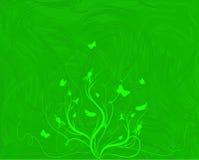 Flourising in groen Royalty-vrije Stock Afbeelding