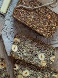 Flourless bread Stock Photos