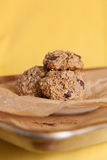 Flourless Oatmeal Cookies Royalty Free Stock Photo