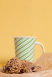 Flourless Oatmeal Cookies Royalty Free Stock Photography
