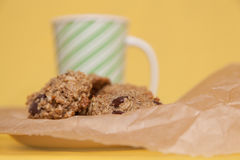 Flourless Oatmeal Cookies Stock Image
