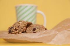 Flourless Oatmeal Cookies Stock Image