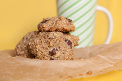 Flourless Oatmeal Cookies Royalty Free Stock Image
