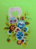 Flover dibujado mano Imagenes de archivo