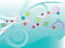 Flover Muster Stockbilder