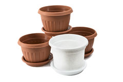 Flover pots Royalty Free Stock Image
