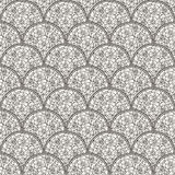 Flover wallpaper in the style of Art Nouveau. Seamless vector background Royalty Free Stock Photos