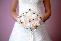 Flovers van de bruid `s royalty-vrije stock afbeelding