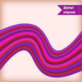 Flow abstract background. Abstract background with colored wave. Vector. Illustration Royalty Free Illustration