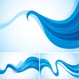 Flow abstract background. Series, file format EPS 10 Royalty Free Stock Photography