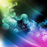 The flow of bubbles Royalty Free Stock Photos