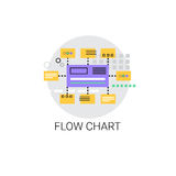 Flow Chart Analysis Concept Data Icon Royalty Free Stock Image