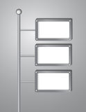 Flow chart, sign style background Royalty Free Stock Photo