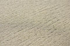 Flow Line Textured Natural Beach Sand Copy Space stock photo