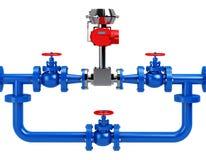 Flow meter Stock Images