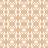 Flow seamless background one color pattern ornamen Royalty Free Stock Image