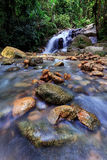 The flow of waterfall Royalty Free Stock Photos