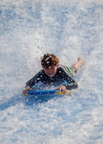 Flowboarding на доме Sentosa волны Стоковое фото RF