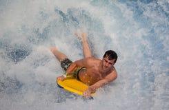 Flowboarding på våghuset Sentosa Fotografering för Bildbyråer
