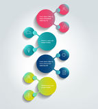 Flowchart diagram, scheme. Stock Photos
