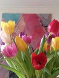 Flowed tulip Royalty Free Stock Photo