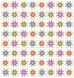 Flower. Background warm color illustration Stock Photography
