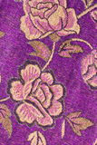 Flower abric texture Stock Photography