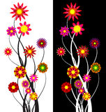 Flower abstract background Royalty Free Stock Photos