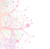 Flower abstract background. Abstract natural background preparation for the designer Royalty Free Stock Photo