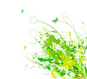 Flower abstract background Stock Photography