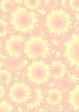 Flower abstract background. Flower abstract yellow red background Stock Illustration