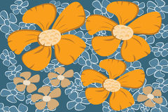 Flower abstract background Royalty Free Stock Image