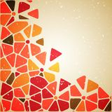 Flower abstract background. Vector illustration, contains transparencies, gradients and effects Stock Illustration