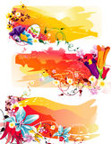 Flower abstract illustration Royalty Free Stock Image