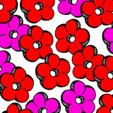 Flower abstract vector floral icon element design Stock Photography