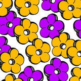 Flower abstract vector floral icon element design Royalty Free Stock Images