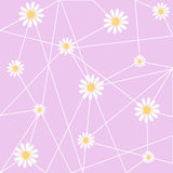 Flower Abstract Wallpaper great for any use. Vector EPS10. Stock Photography
