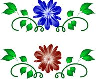 Flower abstraction Royalty Free Stock Images